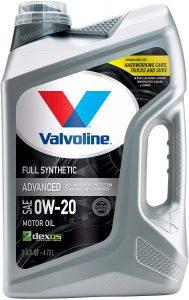 Valvoline Advanced Full Synthetic SAE 0W-20 motor oil
